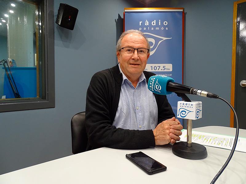 Martí Fonalleras, en una entrevista als nostres estudis, l'abril de 2019.