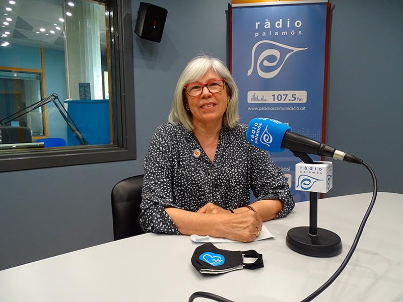 Roser Huete, regidora de la CUP Palamós VIla-romà a l'Ajuntament de Palamós.