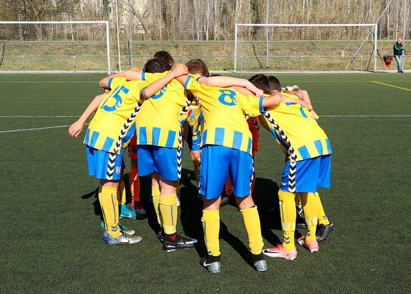 El Palamós CF vol captar jugadors pel seu futbol de base. (Foto: Palamós CF).