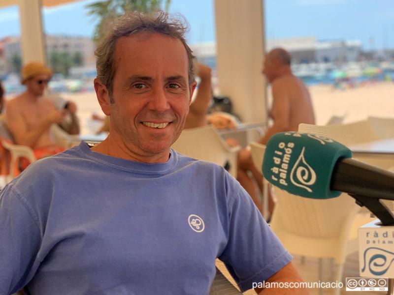 Marc Ferriol en el decurs del programa