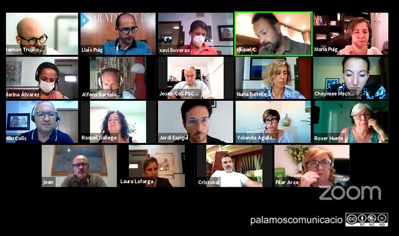 La sessió del Ple de l'Ajuntament de Palamós corresponent al mes de juliol.