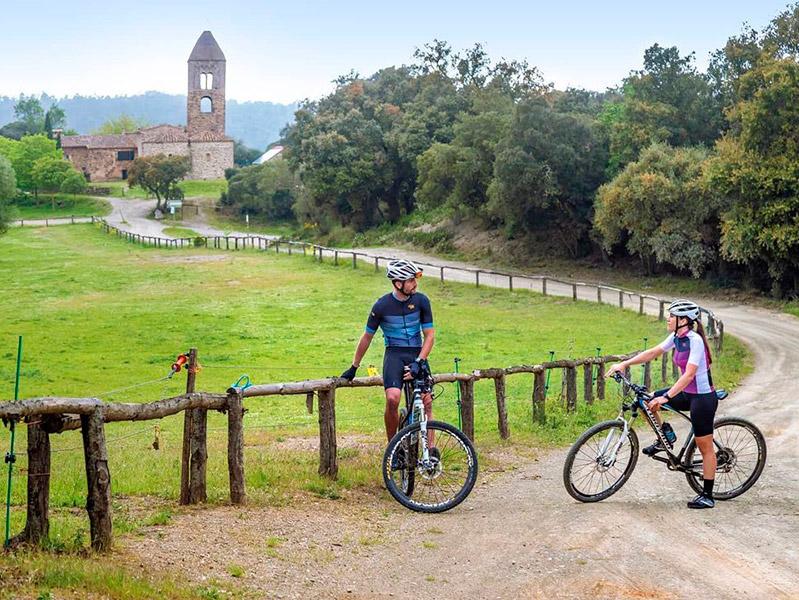 El Centre Trail Palamós permet fer fins a 10 rutes diferents en bicicleta per la nostra zona. (Foto: Centre Trail Palamós).
