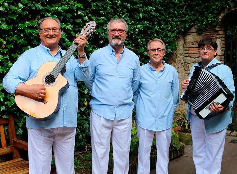Els integrants del grup Vell Galligants, en una imatge d'arxiu.