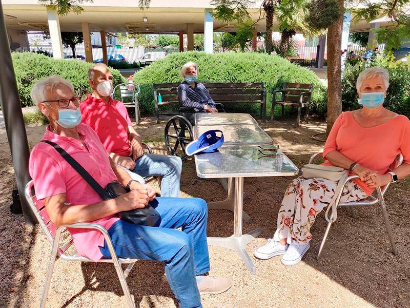 S'endureixen les condicions per visitar als residents del Palamós Gent Gran. (Foto: SSIBE).