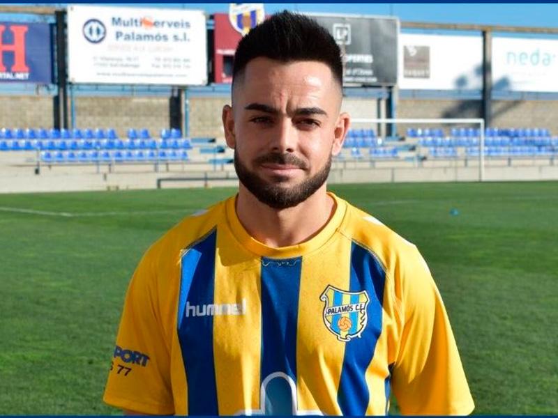 Adri Salas vestirà la samarreta del Palamós per quarta temporada consecutiva. (Foto: Palamós CF).