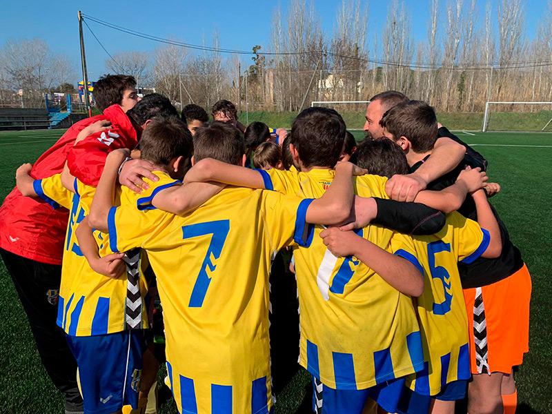 El Palamós CF busca jugadors pels seus equips de base. (Foto: Palamós CF).