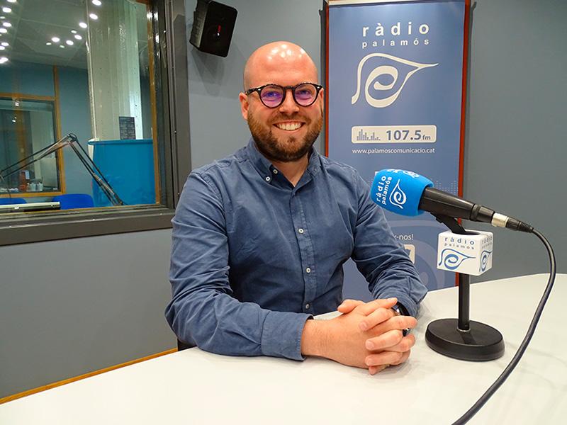 Raimon Trujillo, regidor de Junts per Catalunya a l'Ajuntament de Palamós.