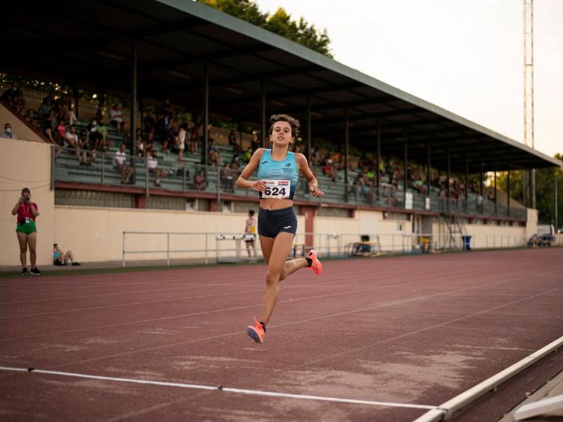 L'atleta de l'Associació Atlètica Palamós, Blanca Batlle. (Foto: AA Palamós).