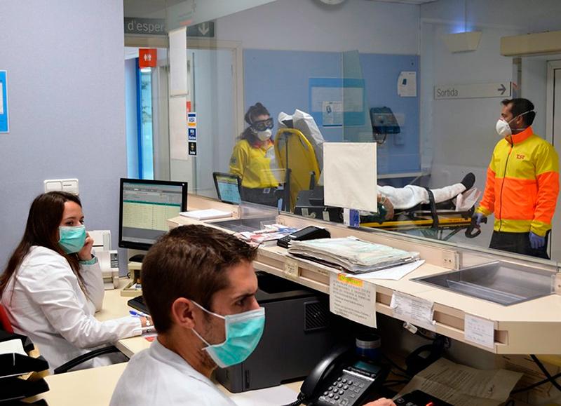 Imatge d'arxiu del servei d'urgències de l'hospital de Palamós. (Foto: SSIBE).