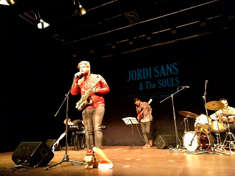 Jordi Sans & The Souls, actua demà dissabte a l'Arbreda a les 10 de la nit.