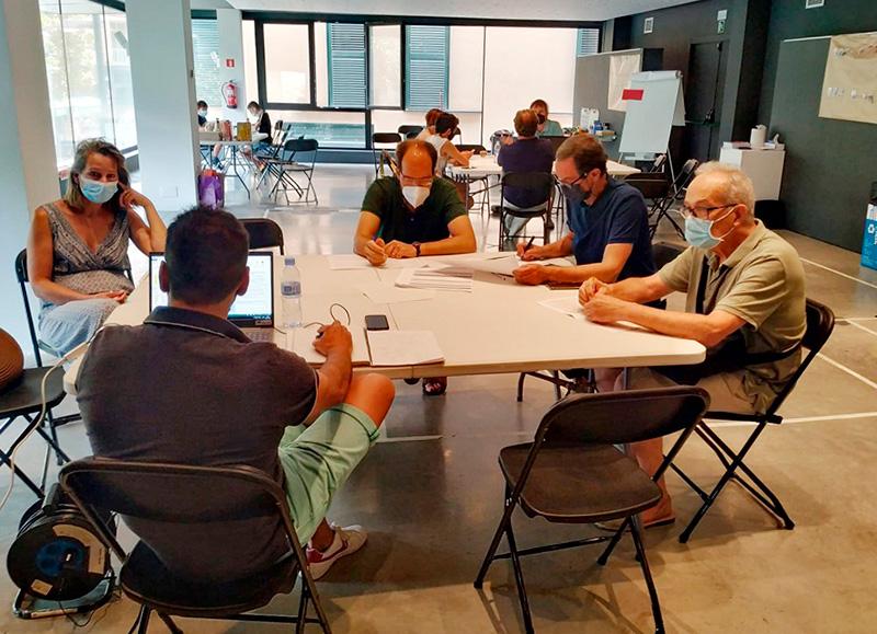 El taller participatiu ciutadà realitzat el dissabte passat. (Foto: Ajuntament de Palamós).