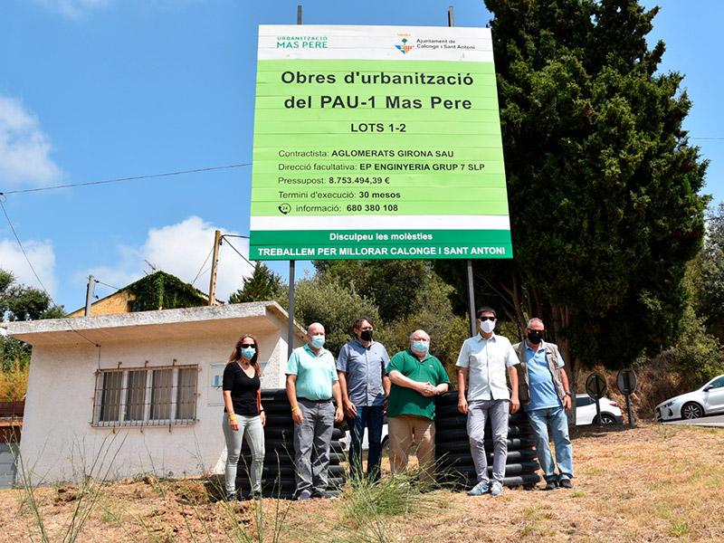 Les obres començaran el 20 de setembre i duraran 30 mesos. (Foto: Ajuntament de Calonge i Sant Antoni).