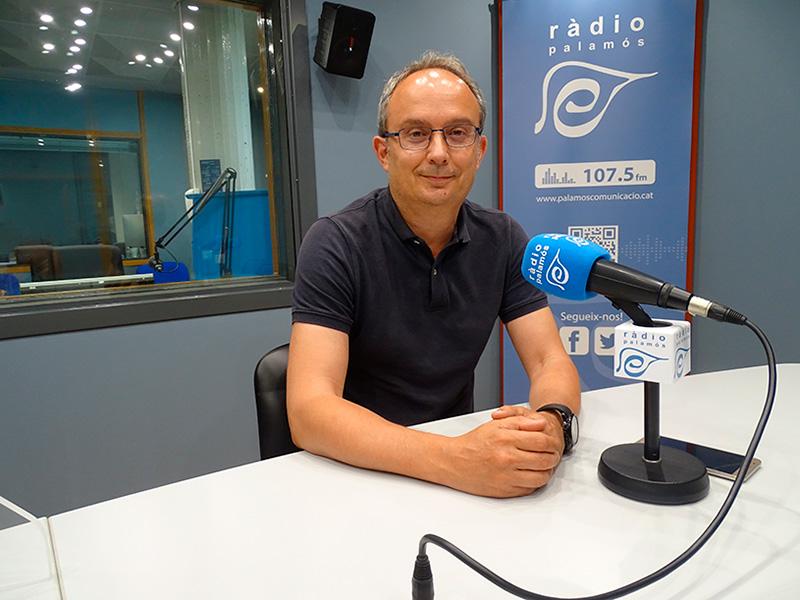 El regidor del PSC a l'Ajuntament de Palamós, Josep Coll.
