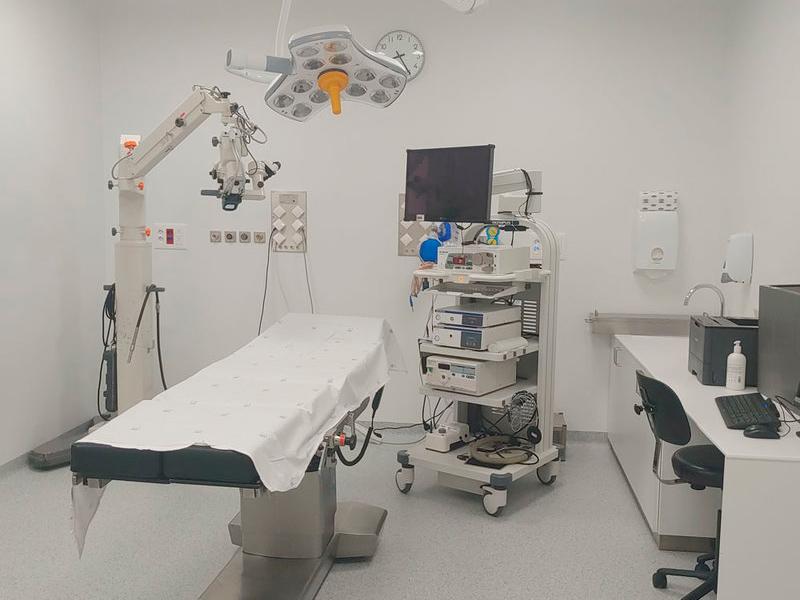 La nova sala d'endoscòpies de l'hospital de Palamós. (Foto: SSIBE).