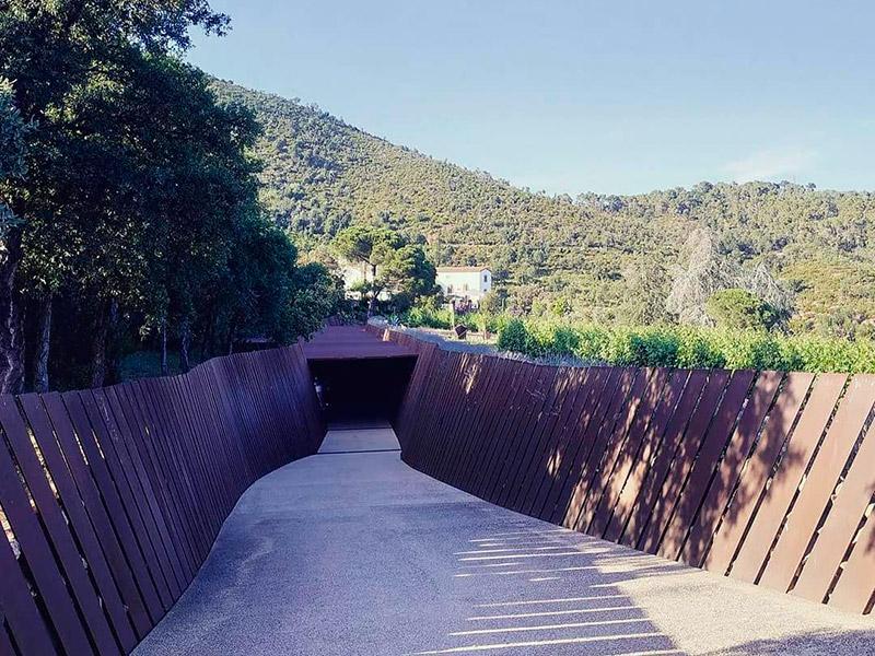 L'entrada al celler Brugarol, a la vall de Bell-lloc. (Foto: Brugarol).
