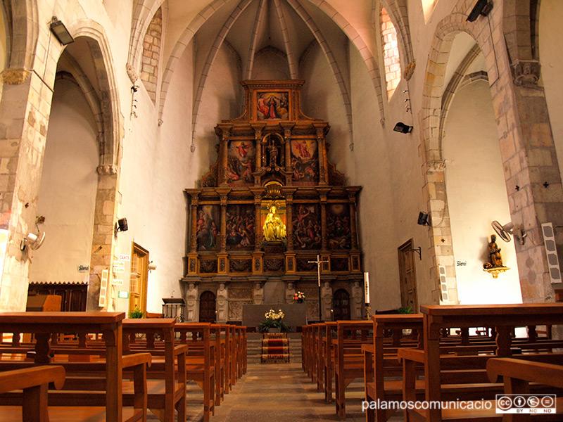 L'església de Santa Maria del Mar de Palamós.